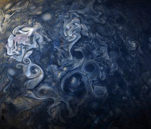 صور مخملية رائعة وحديثة لسحب كوكب المشتري أكبر الكواكب