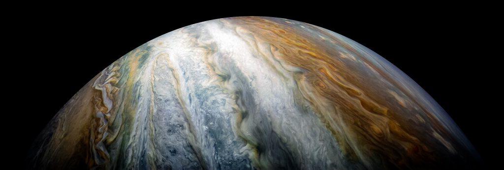 كوكب المشترى أكبر الكواكب
