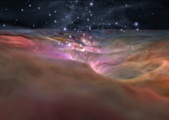 trip-through-orion-nebula