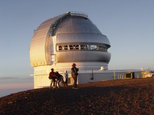 Gemini_Observatory_at_sunset