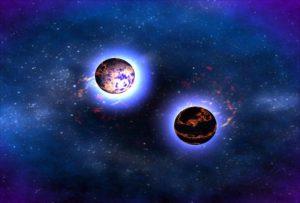 موت نجم ضخم يؤدي الى ولادة ثنائي نيوتروني مضغوط